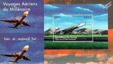 BAe / Aerospatiale CONCORDE Prototype SST Aircraft Stamp Sheet (2002 Guinea)