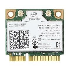 Intel Wireless-N 7260 7260HMW WiFi BT 4.0 802.11b/g/n PCI-E 300Mbps Wlan Card