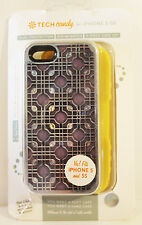 Tech Candy Iphone 5/5S Dual Protection Phone Case Purple/ Purple Haze/ Sunshine
