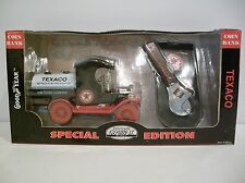 NIB 1:24 1912 Ford Model T Oil Tanker Multiple Task Tool Diecast Bank By GearBox