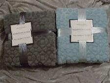 Velvet Blanket Full Queen 90x90 Soft Warm Gray Blue Solid Color NEW!