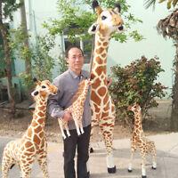 Giant Giraffe big Plush Toys Pop Soft Stuffed Emulational Animals Giraffe Doll