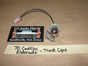 OEM 70 Cadillac Eldorado TRUNK DECK LID LIGHT **TESTED**