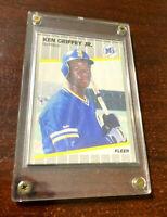 1989 Fleer Ken Griffey Jr #548 Rookie RC Mariners (Hard Case Included) NM+/MT