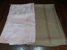 New listing Pair of Vintage Unused Tablecloths Nice