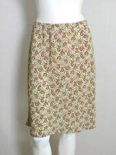 My Michelle Women's Green Paisley Skirt Size Large   (IN3)