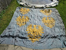 Monarchie kuk wohl Niederösterreich Adler Wandbehang Seide Silk Wappen XXL