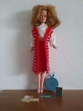 Vintage TRESSY Doll Clothes BON VOYAGE Vest Blouse Skirt Shoes Passport Complete