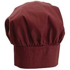 Winco Ch-13Bg, Burgundy Chef Hat