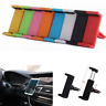 Portable Universal Auto Car Air Vent Mount Cradle Stand Holder For All phone GPS