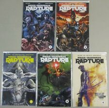 Ninjak Shadowman Rapture #1 2 3 4 Complete Series Run Lot 5 Comics NM/VF Valiant