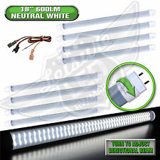 "8 x LED T8 Tube Replacement NW Light 18"" 600 LUMEN RV Marine 8-30v 12v"