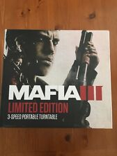 MAFIA III LIMITED EDITION 3-Speed Portable Turntable- Take Two Interactive