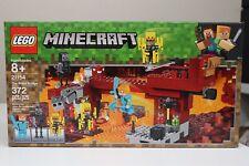 Lego Minecraft 21154 The Blaze Bridge - Sealed