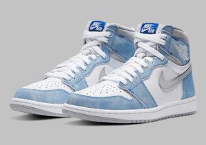 2021 Nike Air Jordan Retro 1 High Hyper Royal 555088-402 PRE-ORDER Sz 9-13
