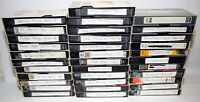 Lot of 34 Various Brands Recorded VHS Tapes - Sold As Blank Media - Lot # 43