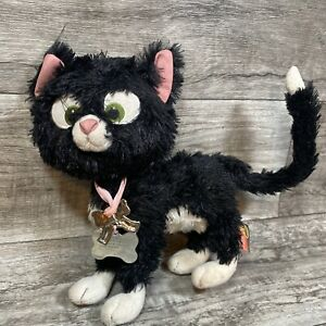 "Disney Store Plush 10"" Posable Bolt Mittens Black Cat 2008"