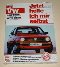 Guía de reparación VW Golf II/2 + jetta con 1,6 l Diesel, año de construcción 1983 - 1992