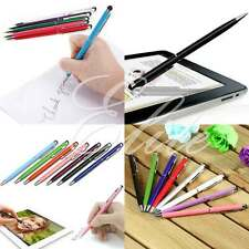 PRO Stylus with Ball Point Pen Ultra Smooth Tip for iPhone Tablets iPad Galaxy S