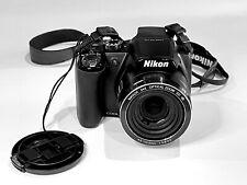 Nikon COOLPIX P90 12.1MP Digital Camera - Black + 8GB Card; Charger; Manual