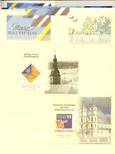 LATVIA 1992-2004 STAMP EXHIBITION BOOKLETS SGB1/21 & 24 CAT £370 (22)