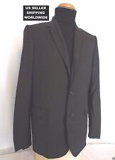 $3890.00 Classic Dior Homme Black Blazer 54R Jacket *Please Make An Offer*