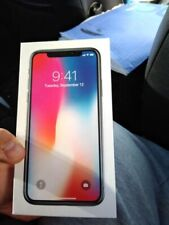 *Sealed* Apple iPhone X - 256GB - Silver (Unlocked) A1865 (CDMA + GSM)