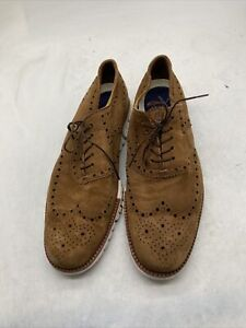 Cole Haan ZEROGRAND Wingtip Oxford Men's Shoes, Size 9.5- Dogwood Cy114