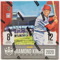 2020 DIAMOND KINGS BASEBALL FACTORY SEALED HOBBY BOX IN STOCK FREE SHIPPING