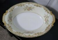 Vintage Noritake Nanarosa 682 Oval Vegetable Bowl -11""