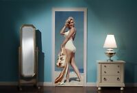Door Mural Marilyn Monroe View Wall Stickers Decal Wallpaper 204