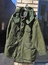 Canadian Army Extreme Cold Parka 3 Piece Full Set Arctic Size 6 Large Regular OD