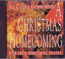Bill Gloria Gaither Homecoming Friends A CHRISTMAS HOMECOMING CD Classic Great