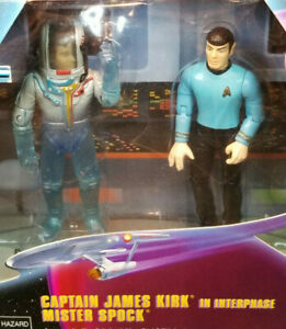 Kirk in Interphase and Spock Tholian Web 2 pk Star Trek Classic TOS Playmates 99
