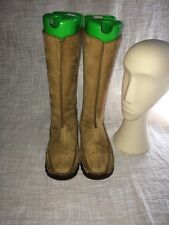 Clarks Original Leather Tall Boots Women Size 7.5M