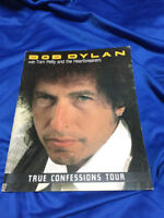Bob Dylan & Tom Petty Heart Breakers True Confessions tour book 1986