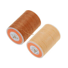 2pcs Leather Sewing Waxed Line for Upholstery Shoe Luggage DIY Craft 0.55mm