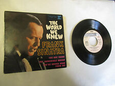 "45 T Frank Sinatra ""The World we knew"",""Tou are there"" RVEP 60107 (2310)"