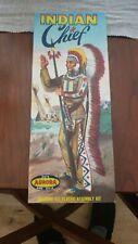 New listing Vintage Aurora Indian Chief model, kit 417-98