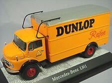 PremiumClassiXXs 1/43 Mercedes-Benz L911 DUNLOP Orange Truck