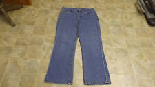 CHRISTOPHER & BANKS MODERN FIT Straight Leg Stretch Jeans 32X30 Women 10 #3861