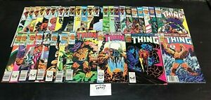 Thing, Complete 1983 Marvel Series.  Issues 1-36.