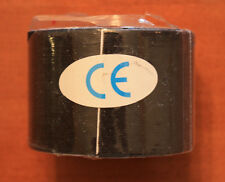 Authentic Black Kinesiology Tape sports tape 4 Rolls  5m x 5cm USA