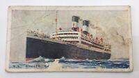 Merchant Ships World SS Giulio Cesare Vessel Imperial Tobacco Card 25 F142