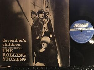 """The Rolling Stones """"December's Children (and everybody's) LP Record Vinyl London"""