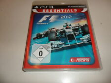 PlayStation 3 PS 3  F1 2012 - Formula 1