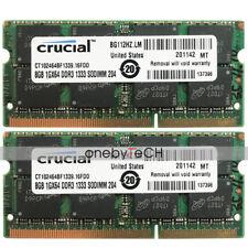16GB 2X8GB PC3L-10600 DDR3 1333 204pin Memory For Apple Mac mini A1347  Mid-2011