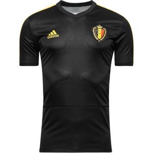 Belgium Football Shirt Mens adidas Training Football Shirt - New