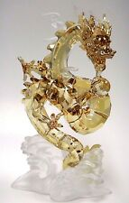 NOBLE DRAGON, LARGE CHINESE INSPIRED GOLDEN CRYSTAL 2016 SWAROVSKI #5136824