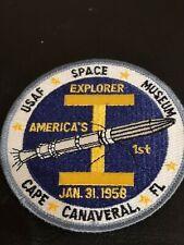 NASA Space Museum Patch Explorer 1 Cape Canaveral